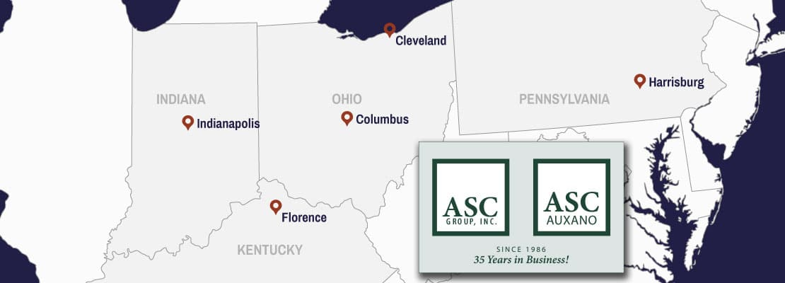 ASC Group and ASC/Auxano Locations